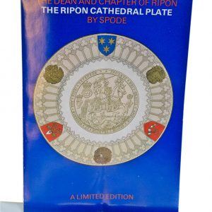 Ripon cathedral Spode plate