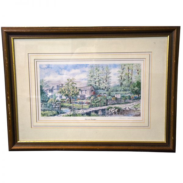 Beck Hall Signed Limited Edition Print 355 of 500 – By Normal Nelson