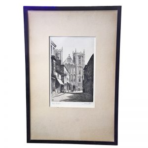 Ripon 'The Minster' Etching
