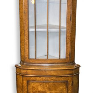 Reproduction Corner Display Cabinet A/F