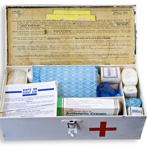 Paragon Vintage First Aid Tin with Contents