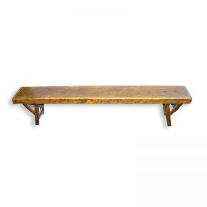Vintage School Bench with folding legs