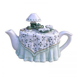 Novelty Collectable Teapot 'Afternoon Tea'